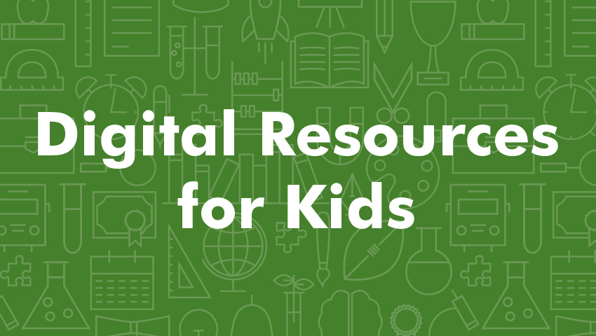 Digital Resources for Kids graphic