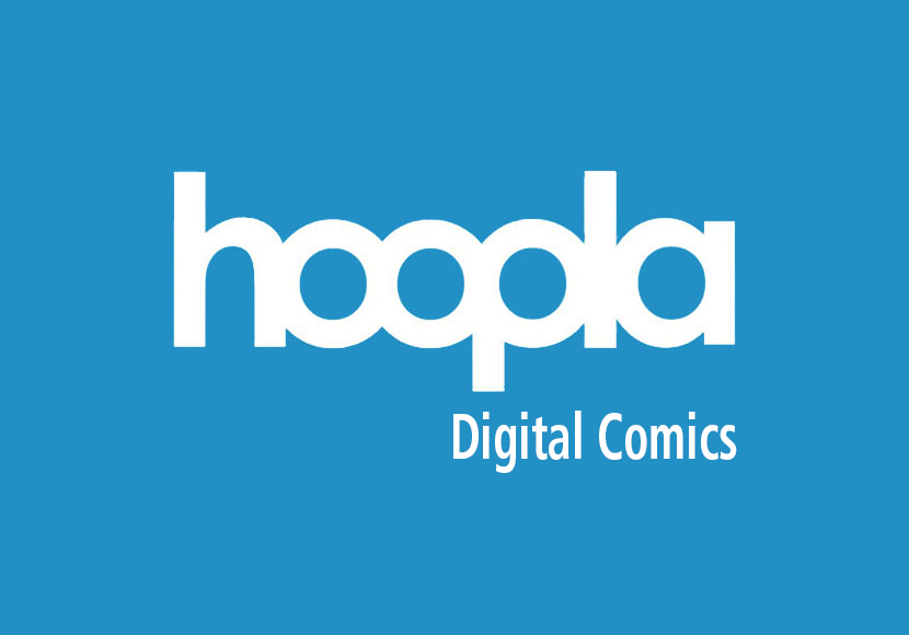 hoopla digital comics logo
