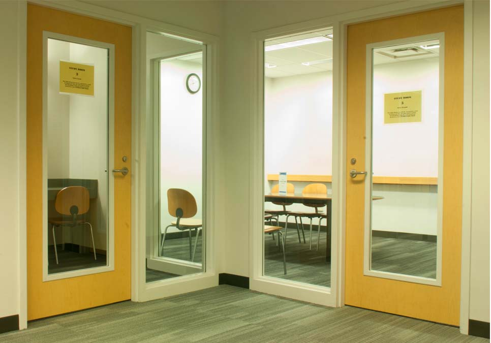 Study room area at the Rainier Beach Branch