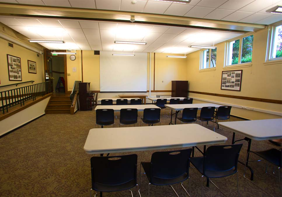 Meeting room area at the University Branch