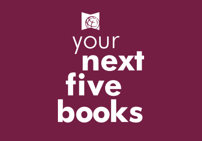 your next five books logo